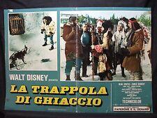 FOTOBUSTA CINEMA - TRAPPOLA DI GHIACCIO - WALT DISNEY - 1961 - AVVENTURA - 02