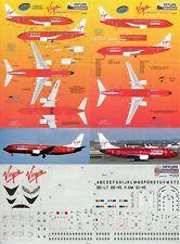 SKYLINE DECALS 1/144 Boeing 737-300/400 (Virgin Express)