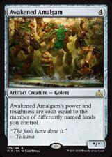 Rivals of Ixalan ~ AWAKENED AMALGAM rare Magic the Gathering card
