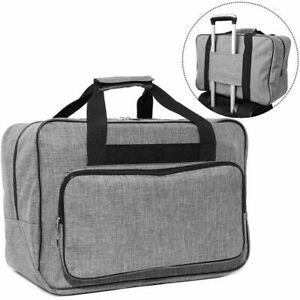 Sewing Machine Carrying Case 18.1 x 9.4 x 12.2, Travel Tote Bag Universal, Grey