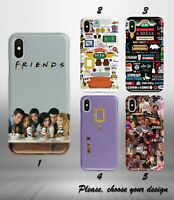 Friends TV Series case for iphone 11 12 pro max XR X XS SE 2020 8 7 plus 6 + SN