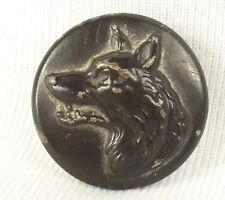 Bouton de chasse à courre vénerie chien d'arrêt dog hunt hunting old button 3