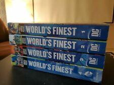 SHOWCASE PRESENTS WORLD'S FINEST VOLUMES 1 2 3 4 comics lot graphic novel