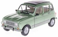 SOLIDO 1800109 RENAULT 4L GTL diecast model road car green Celadon 1978 1:18th