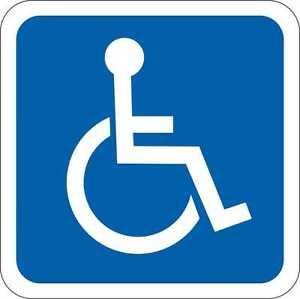 Rollstuhlfahrer Rollstuhl 3-20 cm Behinderten von innenklebend 5080i