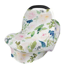 Baby Car Seat Cover Breasfeeding Multi-Use Canopy Nursing for Infant Stretchy