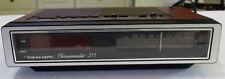 REALISTIC Chronomatic 211 Radio With Alarm Clock Wood Grain Finish VGC