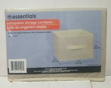 """Essentials, Collapsible Storage Container 11"""" x 11 """"x 8 """""""