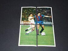 114-117 FINALE 1979 BARCELONA-DÜSSELDORF C2 FOOTBALL BENJAMIN EUROPE 1980 PANINI