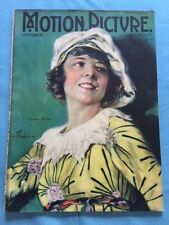 MOTION PICTURE MAGAZINE. OCTOBER, 1921 - ACTRESS COLLEEN MOORE COVER