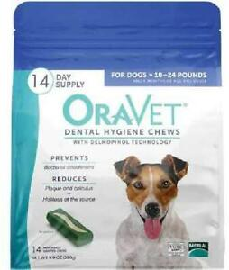 OraVet Dental Hygiene Chews for Small Dogs, 14 Count