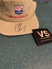 Indianapolis Colts Peyton Manning Signed NFL Alumni Baseball Hat w/COA