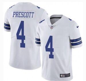 Dak Prescott Nike NFL On-Field L White Cowboys NEW UNOPENED NWT L