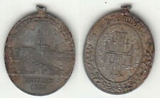 Dresden VI. dt. Turnfest 1885 Medaille unedel ca. 20 x 24 mm ca. 3,47 g