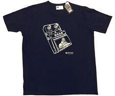 Notts 'left lion' guitar pedal t-shirt (Medium) - manufactured in Nottingham