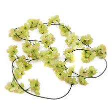 Seda Artificial Flor Leaf Garland Vid Decoración de Hogar Boda Jardín T