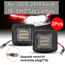 For Ford F-150 Raptor 2015-2019 18LED Rear Bumper License Plate Light Tag Lamp