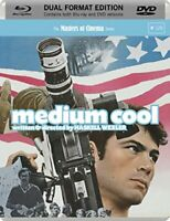 Medium Cool (1969) [Masters of Cinema] Dual Format (DVD and Blu-ray)[Region 2]