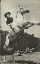 Cowboy Actor Roy Rogers  Mutoscope Exhibit Card #7