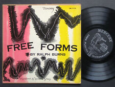 "RALPH BURNS LEE KONITZ Free Forms 10"" LP MERCURY MG C-115 DSM DG MONO FLAT"