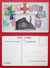 Briefmarken Prägedruck AK SYDNEY um 1905 General Post Office  ( 23498