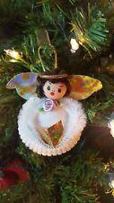 Shell Angel itreekedyou.com Handmade Christmas Ornament