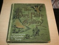 1890 Gustave Dore Bible Gallery 100 Illustrations Demons Angels FIRST EDITION