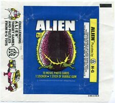 ALIEN 1979 movie Trading Card set Wrapper!!! Topps