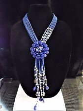 "Joan Rivers Starlet Style 20"" Necklace w/ 3"" Extender ""BLUE"" LAPIS INSPIRED NWT"
