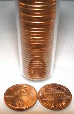 1971-S Lincoln Memorial Penny Roll of 50 cents UNC. P25