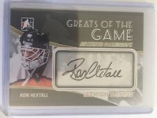 2010-11 Between The Pipes Ron Hextall Greats Of The Game GoalieGraph ITG 10/11
