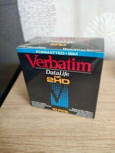 """Disquette 3,5""""  3""""1/2  de marque VERBATIM  Datalife MF 2 HD"""