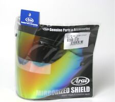 ARAI  Face Shield VISOR SHIELD for SZ RAM4 RAM3 Light Smoke Mirror Red 1201