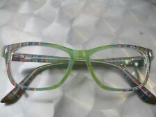 Women Humphrey's Eyeglasses 583037-40 Green Multicolor 50-15