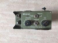 RADIO DEVICE RPRU 5/1  ROCKWELL COLLINS  PRC-515 RU20 RELATED RARE