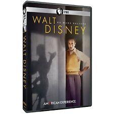 PBS American Experience Walt Disney 2015 Walter Elias Disney Documentary on DVD