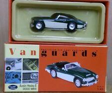 Corgi Vanguards VA05101 Austin Healey E3000 MkII BRG & white Ltd Ed 5431 of 7700