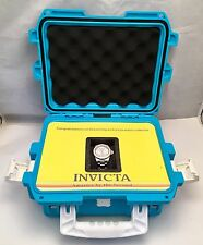 INVICTA ANGEL L.E. SWISS QUARTZ WATCH WATERPROOF 200m CZ ENCRUSTED DIAL & CASE