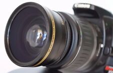 Wide Angle Macro Lens for Canon Eos Digital Rebel t5 t6 sl1 XT i w/18-55 EFS II