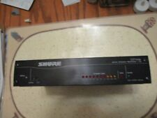 Shure Dp11Eq Dynamics Processor New Open Box W/Manual and Software Disc