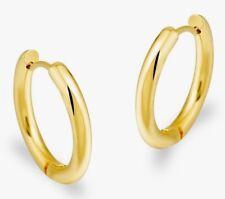 """9ct 9K Yellow """"Gold Filled"""" Ladies Hoop Earrings 23mm ,Bridesmaid Gift Jewellery"""