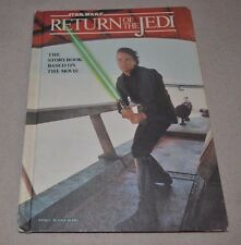 Star Wars Return of the Jedi The Storybook Based on the Movie Weekly Reader Book
