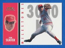 2003 Fleer Tradition Milestones Insert #6 of 25 Tom Seaver Reds HOF NM-MT+