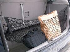 Hammock Cargo Storage Net Van SUV Bungee Rack Organizer Hold Bag Mesh Back Seat