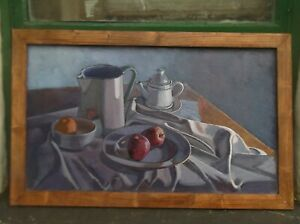 """still life oil painting """"apples and orange"""""""