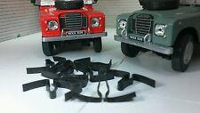 Land Rover Series 2 2a 3 Bonnet Rest Strip Clips x10 338380