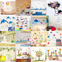 Cute Cartoon Removable Kids Wall Sticker Animals Art Decal Baby Room Home Decor