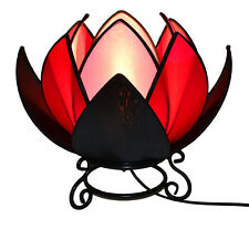 Tri-Colour Waterlily Table Lamp