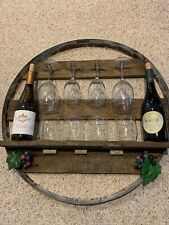 Rustic Wine Wall Station