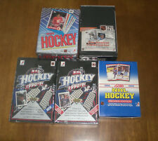 5  HOCKEY CARD UNOPENED WAX BOXES - UPPER DECK - TOPPS - SCORE - PRO SET
